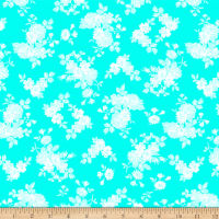Clothworks Janey Tonal Aqua