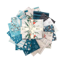 Clothworks Winter Woodland Fat Quarters Multi