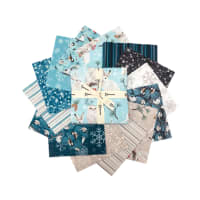 "Clothworks Winter Woodland 5"" Squares 42 Pcs."