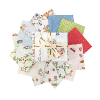 Clothworks Garden Party Fat Quarter Pack 13 Pcs Multi