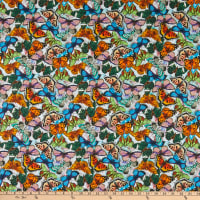 David Textiles Butterfly Season Multi