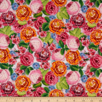 David Textiles Flower Celebration Multi