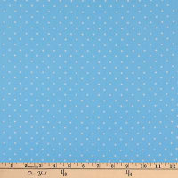 Andover Sweet Shoppe Candy Dot Sky Blue