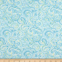 Andover Roseberry Cottage Paisley Teal
