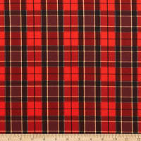 Andover Ruff Life Plaid Red