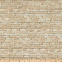Andover Rough Hewn Brick Ivory