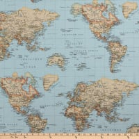 ArtCo Prints Globe Multi