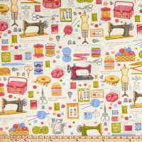 ArtCo Prints Sewing Fun Multi