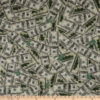 ArtCo Prints Dollar Bills Green