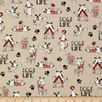 ArtCo Prints Dogs Life Natural