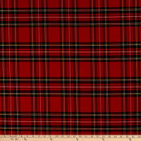ArtCo Prints Tartan Plaid Big Red