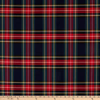ArtCo Prints Tartan Plaid Big Blue