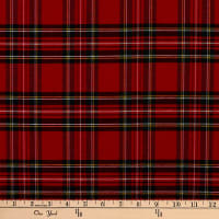 ArtCo Prints Tartan Plaid Small Red