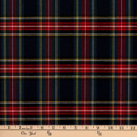 ArtCo Prints Tartan Plaid Small Blue