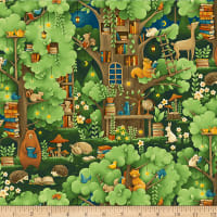 Paintbrush Studios Forest Fables Animal Village Green