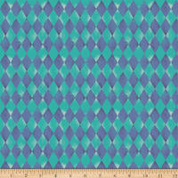 Paintbrush Studios Night of the Nutcracker Checkerboard Teal Purple