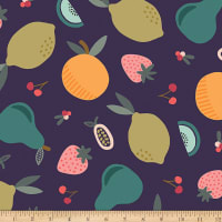 Paintbrush Studios Fruity Fruits Navy