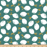 Paintbrush Studios Fruity Lemons Teal