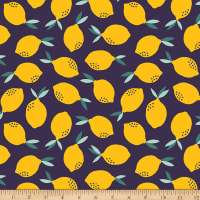 Paintbrush Studios Fruity Lemons Navy