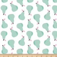 Paintbrush Studios Fruity Pears Mint/White