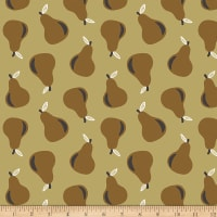 Paintbrush Studios Fruity Pears Brown/Gold