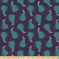 Paintbrush Studios Fruity Pears Navy