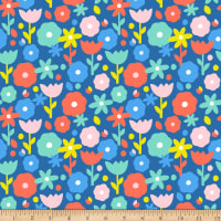 Paintbrush Studios Over the Rainbow Floral Blue