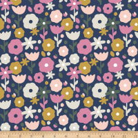 Paintbrush Studios Over the Rainbow Floral Navy