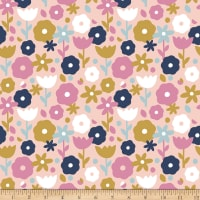 Paintbrush Studios Over the Rainbow Floral Peach