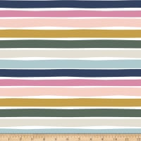 Paintbrush Studios Over the Rainbow Stripe Pastel