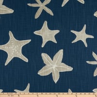 Premier Prints Sea Life Slub Canvas Italian Denim