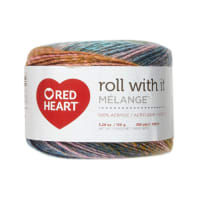 Red Heart Roll with it Melange Green Room