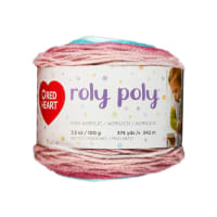 Red Heart Roly Poly Yarn Calm