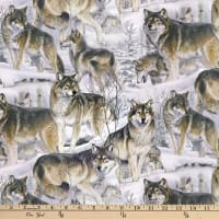 Wolves in the Snow Multi
