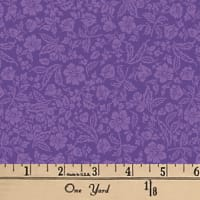 Paris Floral Purple