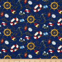 Fabric Traditions Nautical Multi