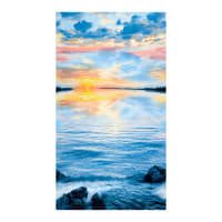 "Timeless Treasures Sunset Sail 24"" Sunset Panel Multi"
