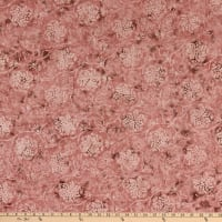Timeless Treasures Tonga Batik Mini Sandstone Fairytale Rose