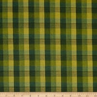 Henry Glass Flannel Folk Art 3 New Plaid Forest