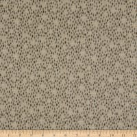 Henry Glass Folk Art Flannels 3 Tree Texture Grey