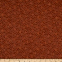 Henry Glass Folk Art Flannels 3 Tree Texture Russet