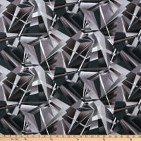 Henry Glass Geo-Topia Shattered Black/Charcoal