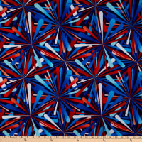 "Henry Glass Smashing Atoms 108"" Quilt Back Patriotic"
