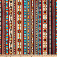 Timeless Treasures Desert Dream Southwest Stripe Multi