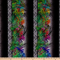 In The Beginning Digital Safari Border Stripe Multi