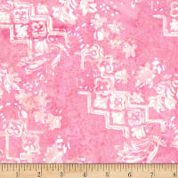 Banyan Batiks Intaglio Stepped Etchings Pretty In Pink