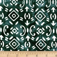 Banyan Batiks Baralla Arrows Tile Design Twlight Grey