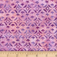 Banyan Batiks Baralla Diamond and Arrows Lush Lavender
