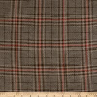 Beacon Hill Sinclair  Basketweave Plaid Slate Gray