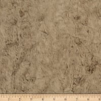 Shannon Minky Luxe Cuddle Marble Cashew